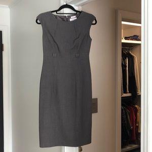 High waisted Calvin Klein business dress